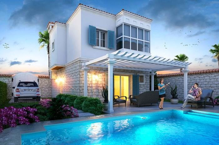 İnşaat Taş Ev Villa Çeşitleri