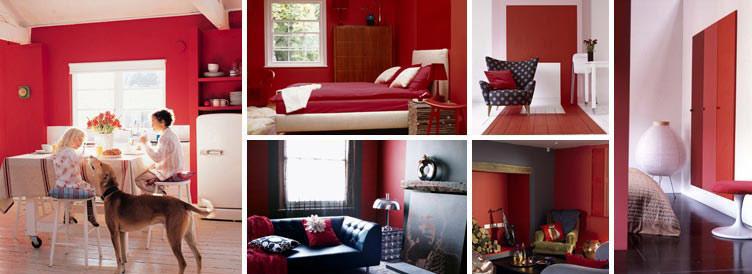 Kırmızı – Tutkulu, uyarıcı ve güç vericidir.