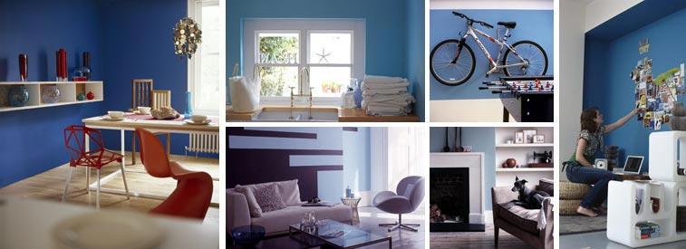 Mavi – Huzurlu ruh halleri üretir ve rahatlatıcıdır.